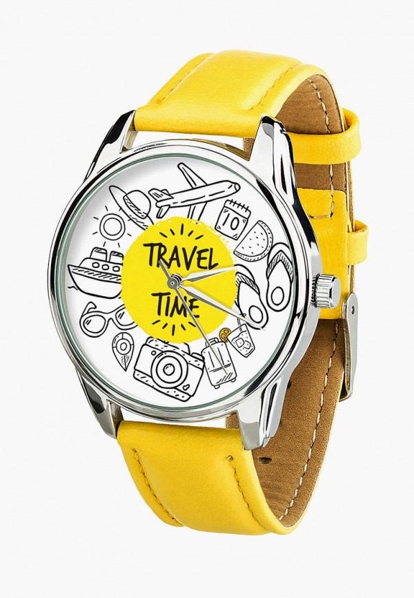 женские часы ziz, желтые