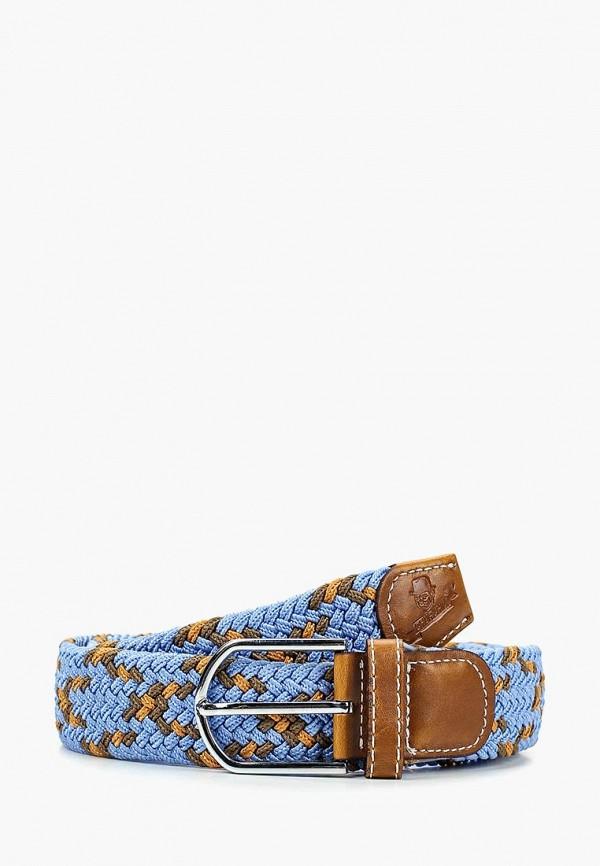 женский ремень churchill accessories, голубой