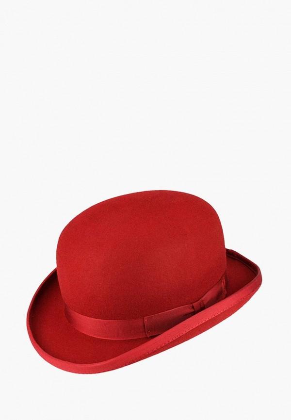 женская шляпа christys, красная