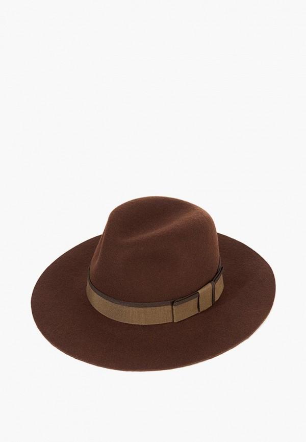 женская шляпа christys, коричневая