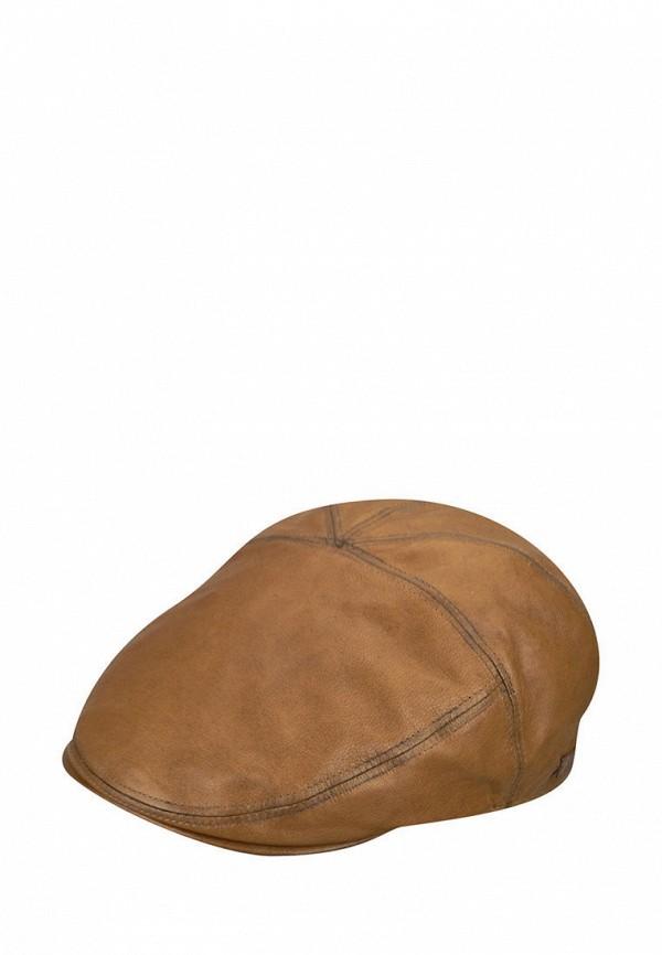 женская кепка bailey, коричневая