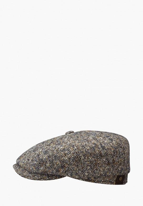 женская кепка stetson, серая