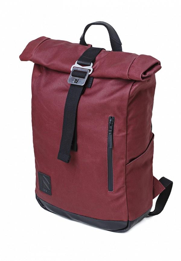 женский рюкзак minnim, бордовый