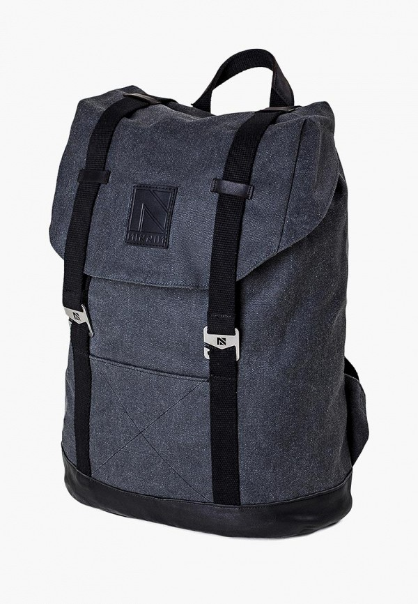 женский рюкзак minnim, серый