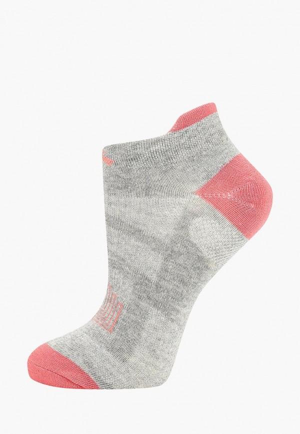 женские носки anta, серые