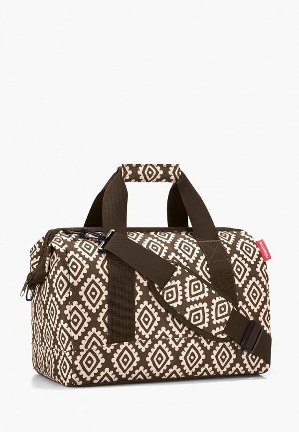 женская дорожные сумка reisenthel, коричневая