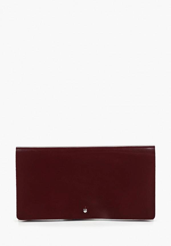 женский кошелёк lokis, бордовый