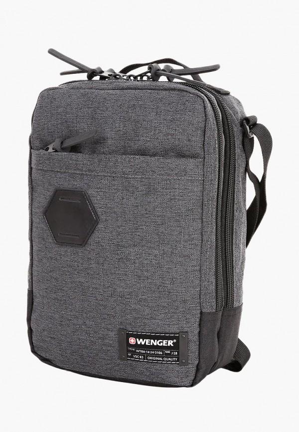 Сумка Wenger Wenger MP002XU0E8F1 сумка дорожная wenger 57 28 30 см серый салатовый