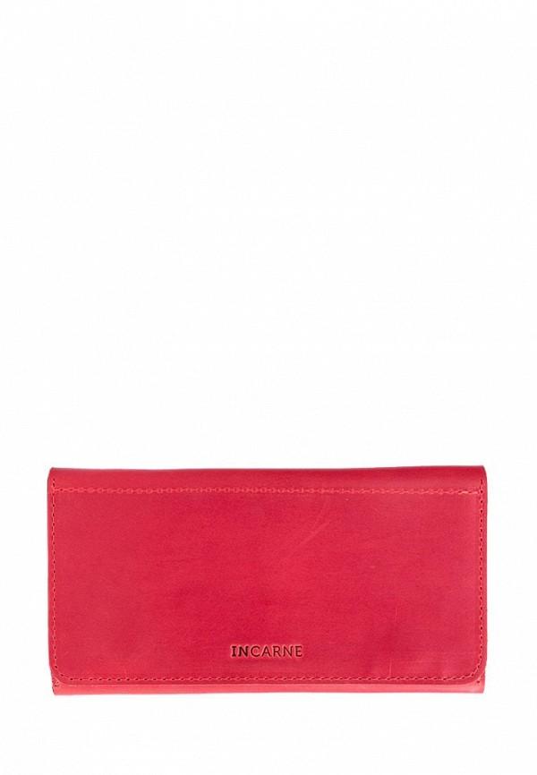 женский кошелёк incarne, красный