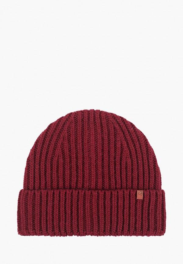женская шапка sava mari, бордовая