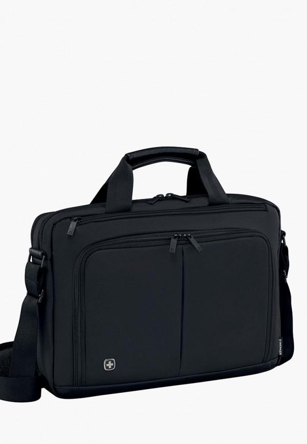 женская сумка wenger, черная