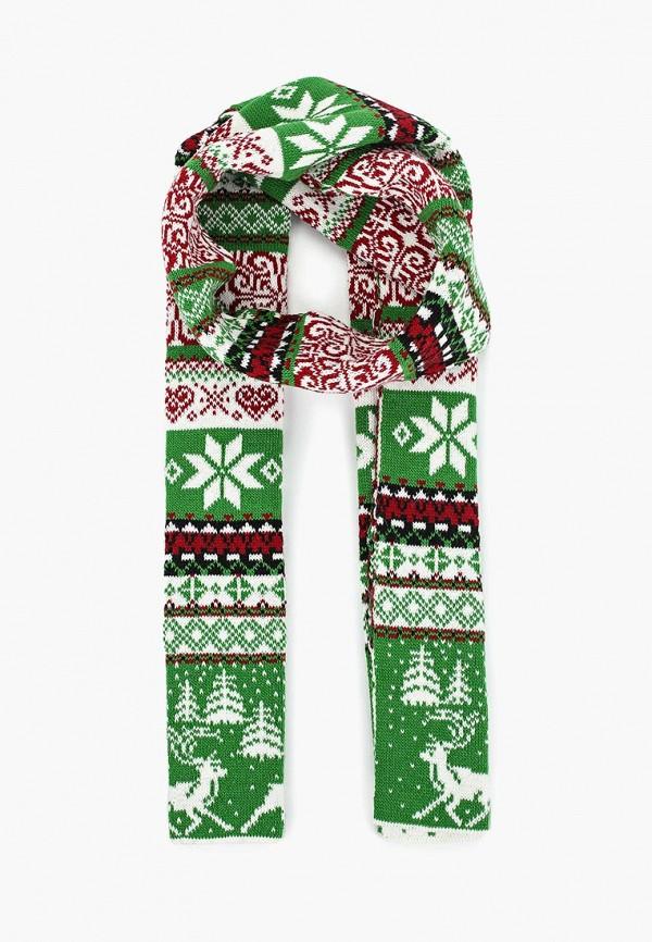 женский шарф сиринга, зеленый