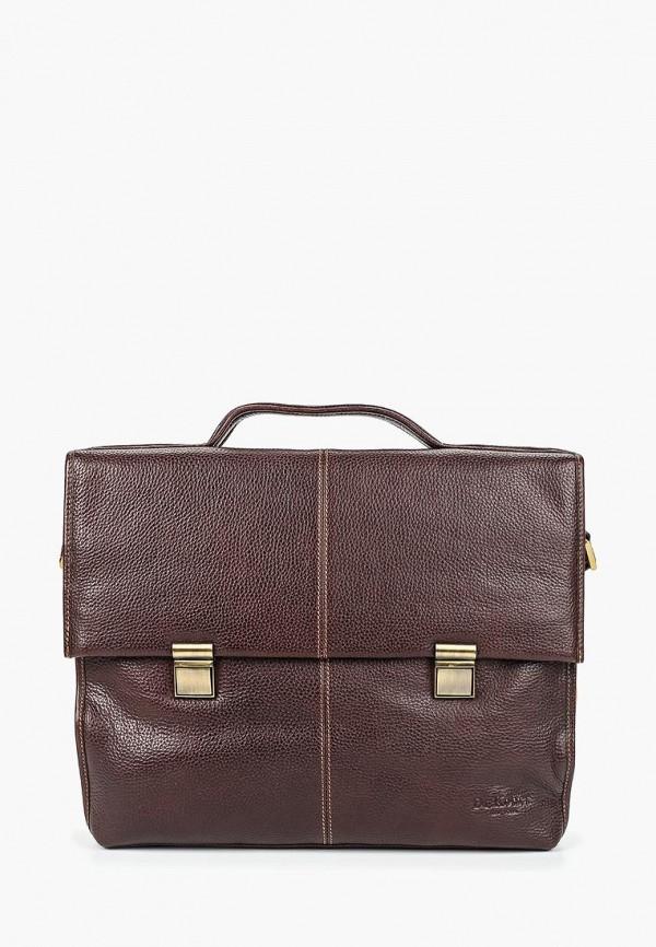 женский портфель dr.koffer, коричневый