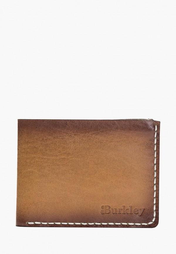 женский кошелёк burkley, коричневый