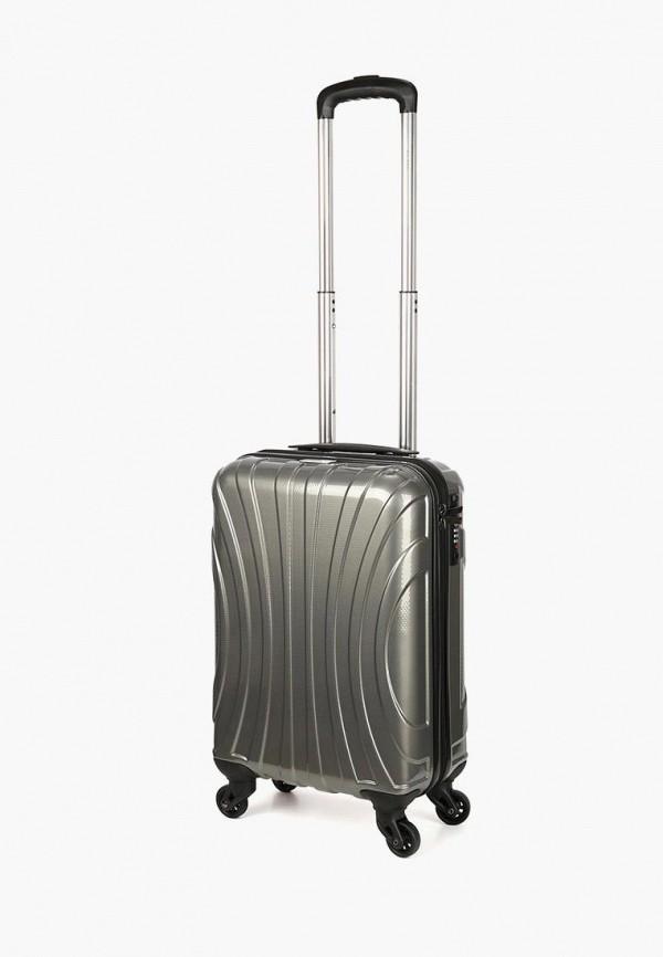 женский чемодан baudet, серебряный