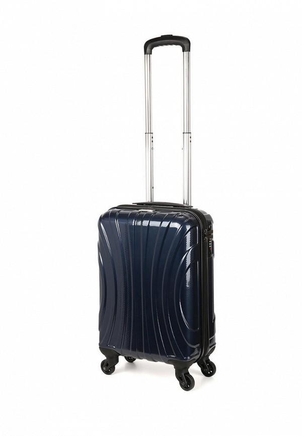 женский чемодан baudet, синий