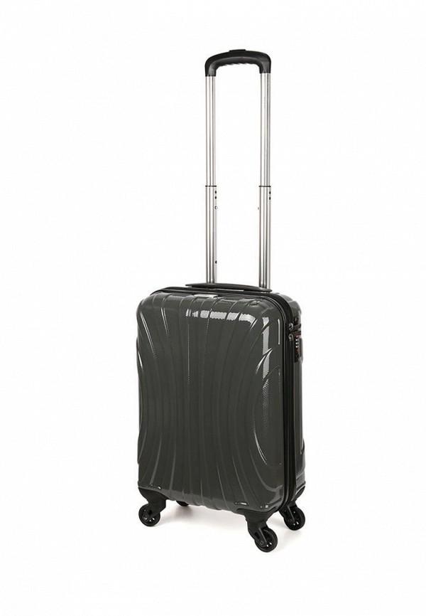 женский чемодан baudet, серый