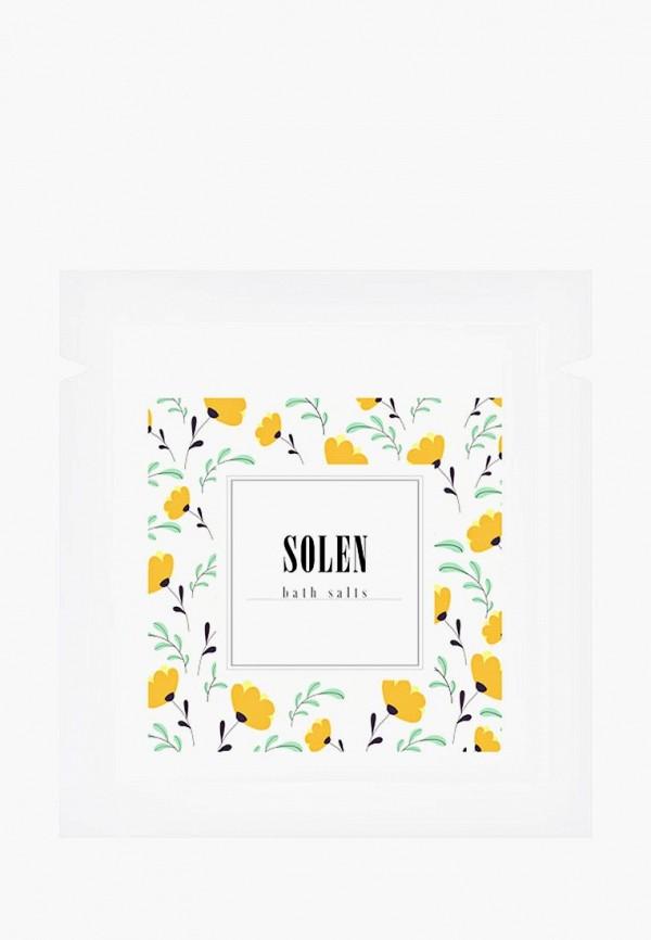 Купить Соль для ванн Solen, Honey, 150 гр, mp002xu0e9dw, желтый