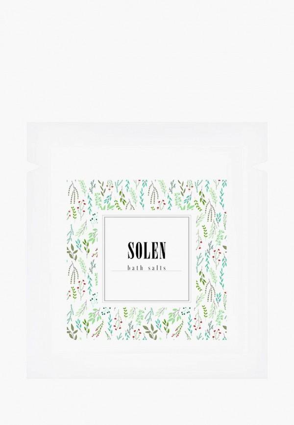 Купить Соль для ванн Solen, Needles, 150 гр, mp002xu0e9dx, зеленый