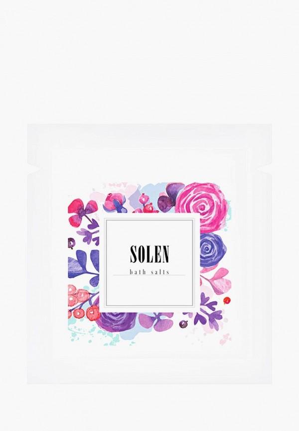 Купить Соль для ванн Solen, Flowers, 150 гр, mp002xu0e9dz, фиолетовый