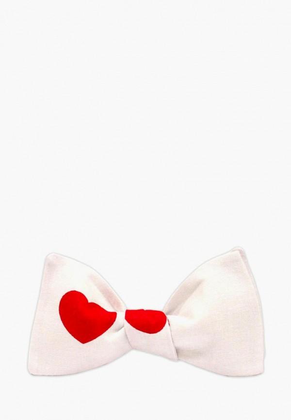 женские галстуки и бабочки krago, белые