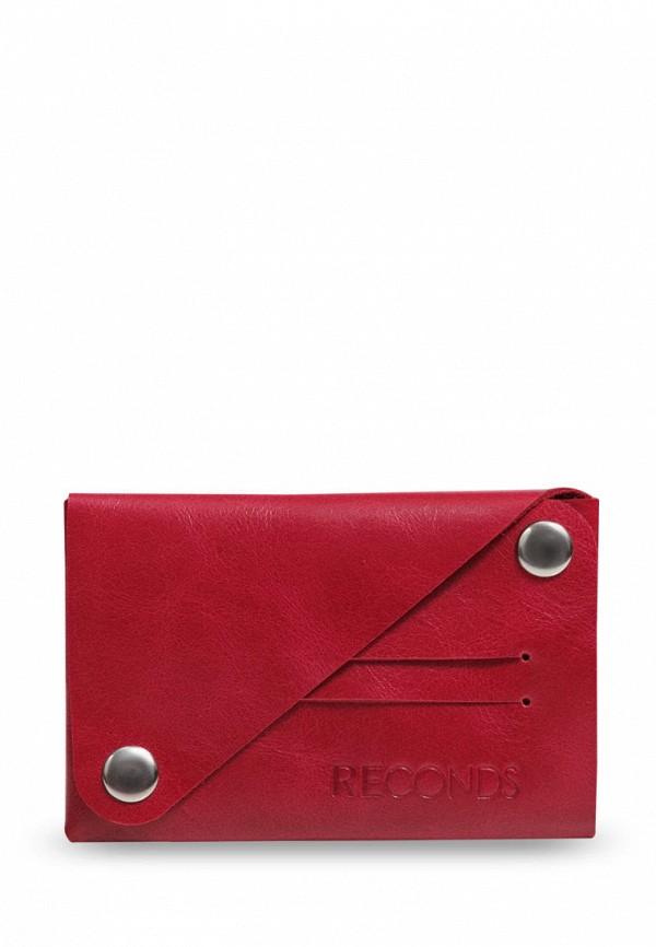 женский кошелёк reconds, красный
