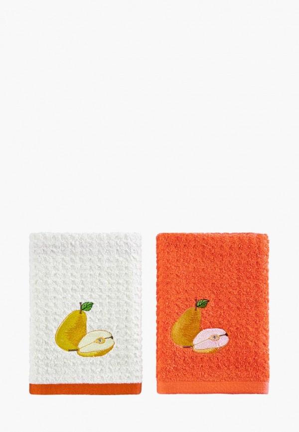 Набор полотенец кухонных Karna Karna MP002XU0E9PK набор кухонных полотенец karna вафельное c вышивкой devon 45x65 см 7 штук 1716