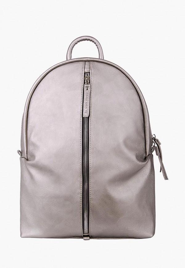 женский рюкзак arny praht, серебряный