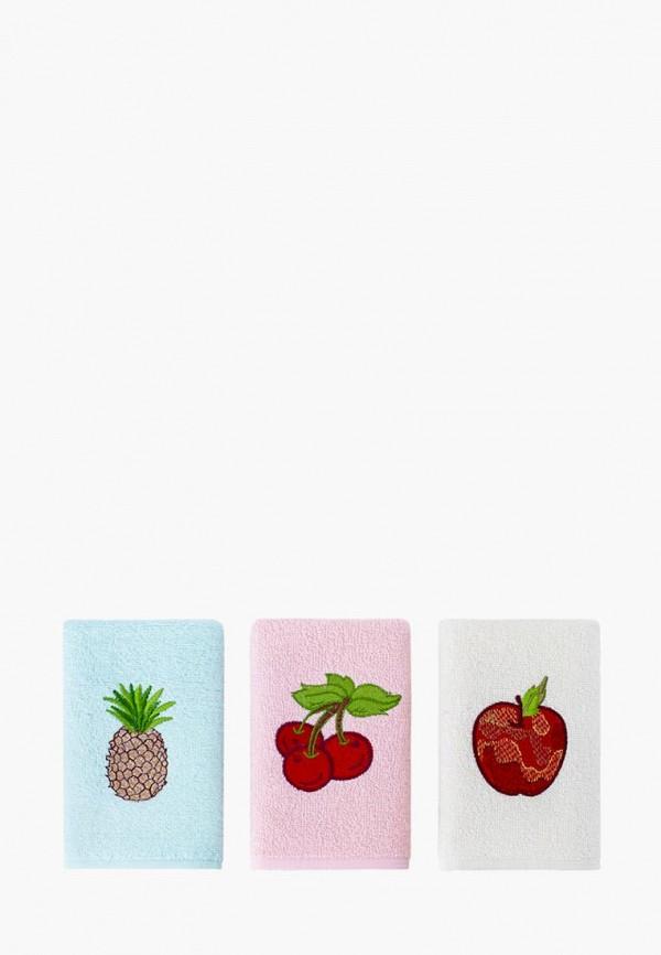 Набор полотенец кухонных Karna Karna MP002XU0E9UK набор кухонных полотенец karna вафельное c вышивкой devon 45x65 см 7 штук 1716