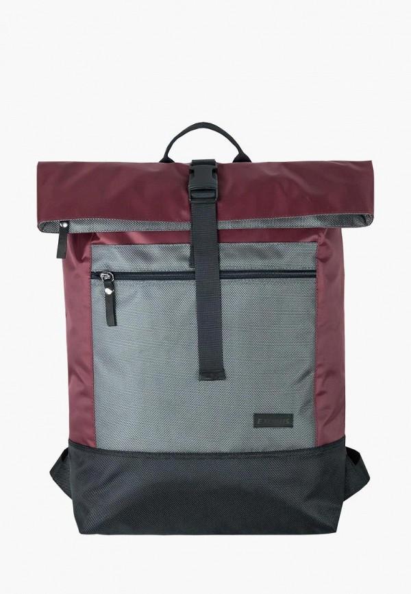 женский рюкзак exodus, бордовый