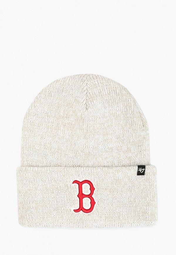 женская шапка 47 brand, серая