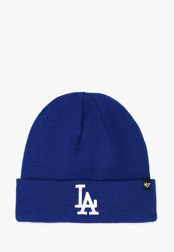 женская шапка 47 brand, синяя