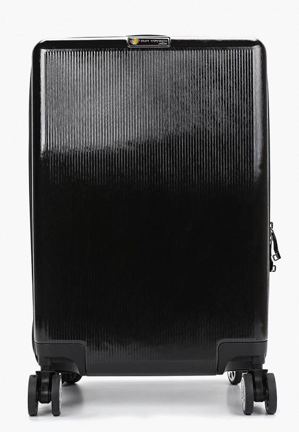 женский чемодан sunvoyage, черный