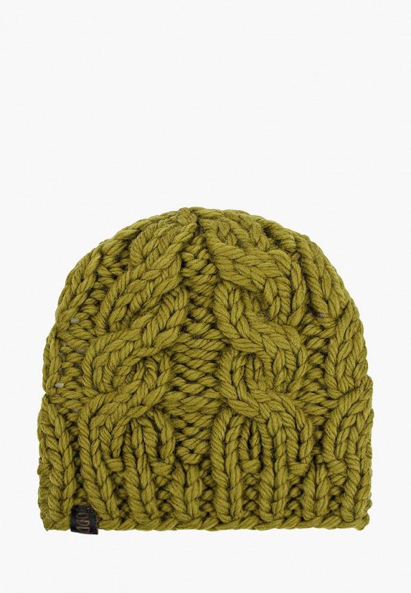 женская шапка oddwood, хаки