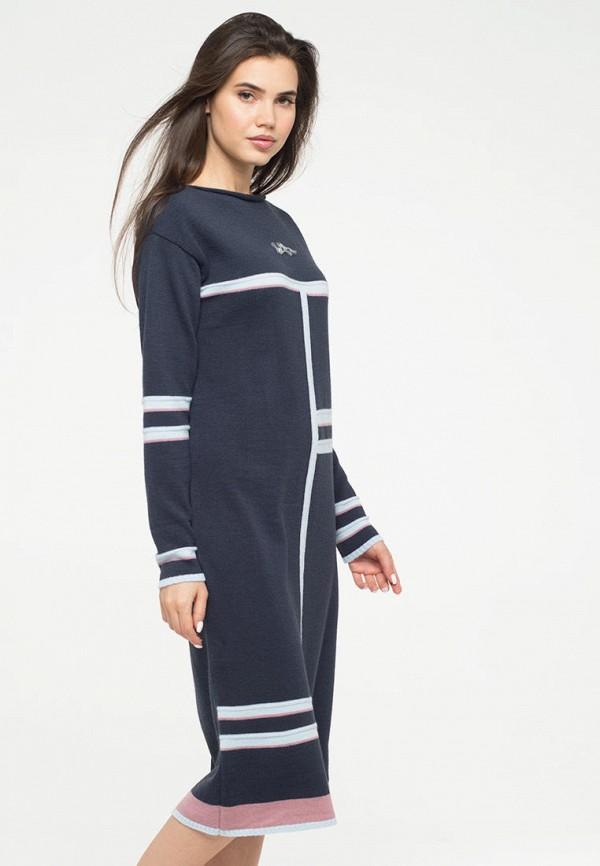 женское платье-свитеры vay, синее