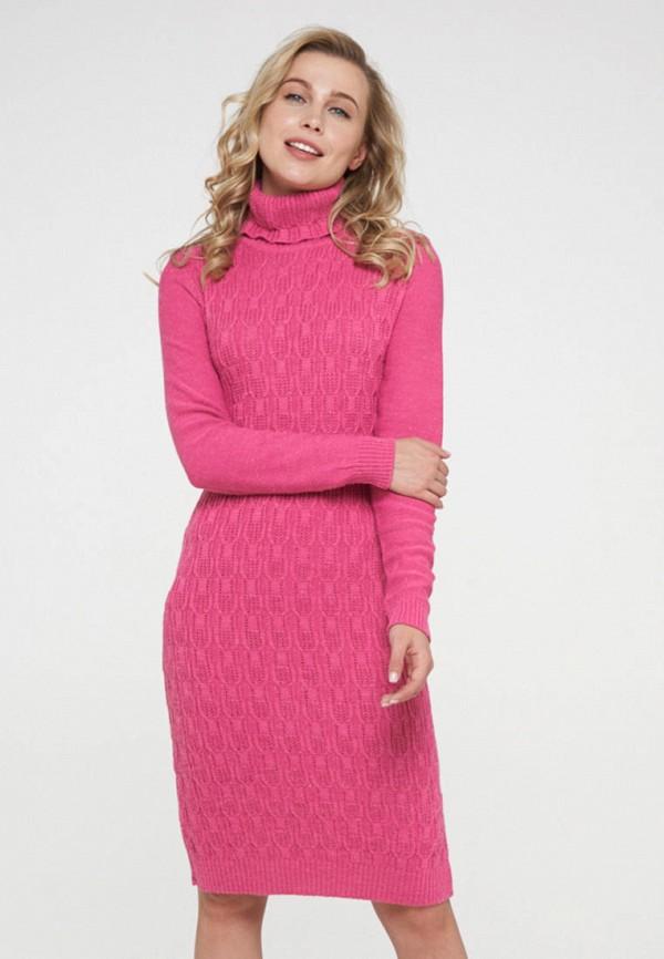 женское платье-свитеры vay, розовое