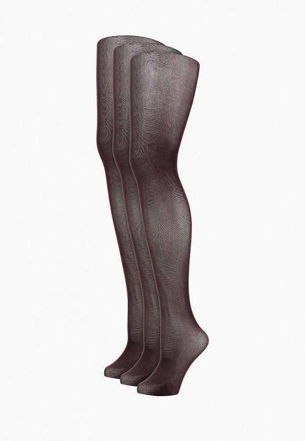 женские носки pierre cardin, коричневые