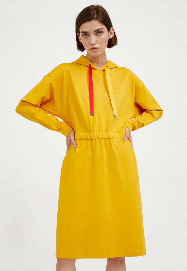 Платье Finn Flare желтого цвета