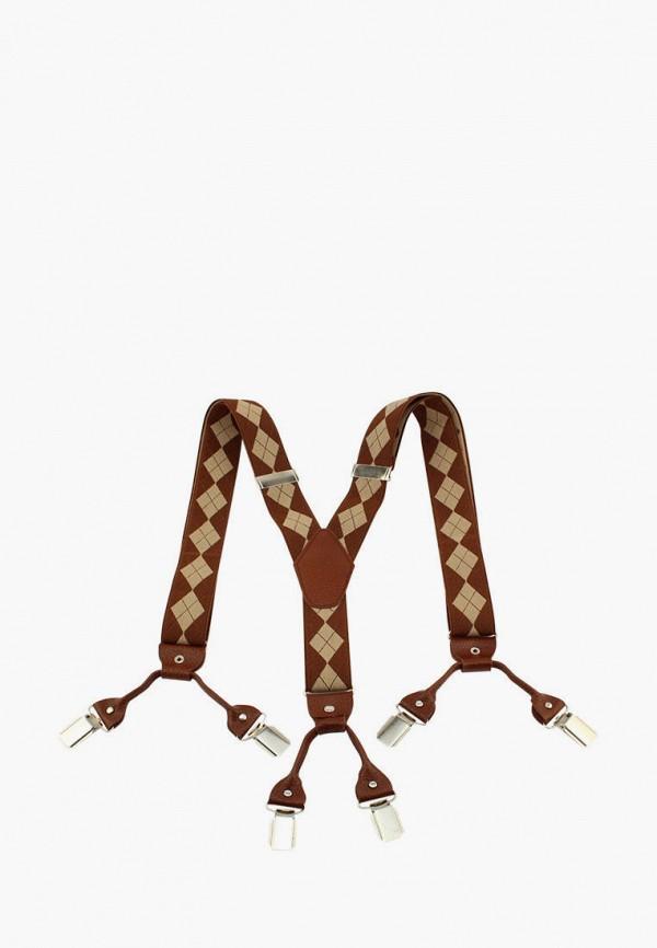 женские подтяжки stilmark, коричневые