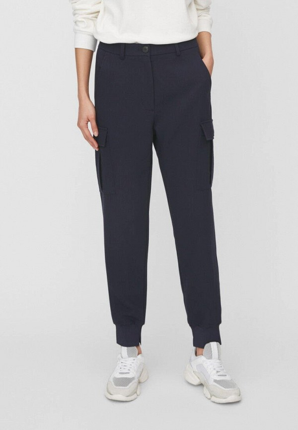 женские брюки marc o'polo, синие