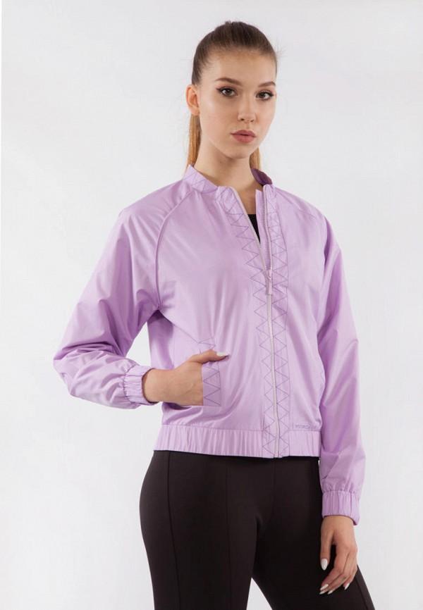 женская ветровка bodro design, фиолетовая