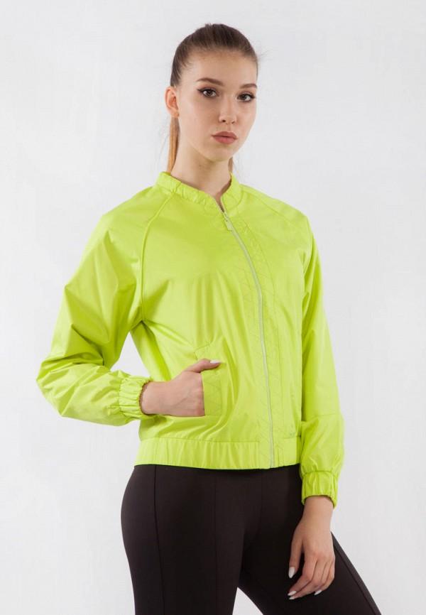 женская ветровка bodro design, зеленая