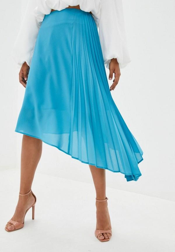 женская юбка jhiva, голубая