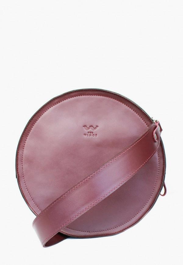 женская сумка the wings, бордовая