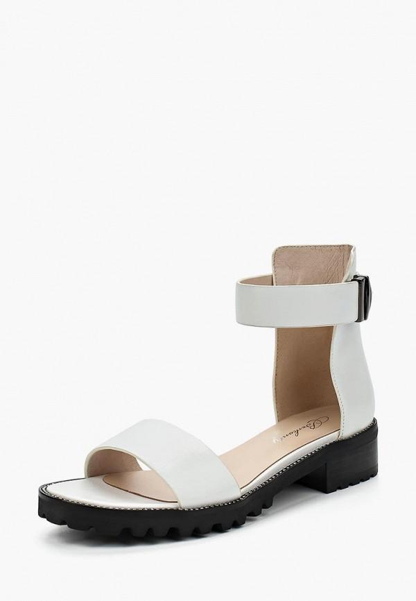 женские сандалии berkonty, белые