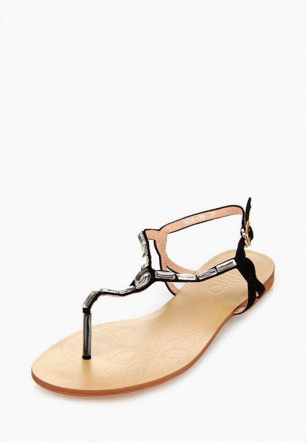 Фото 11 - женские сандали ditto черного цвета