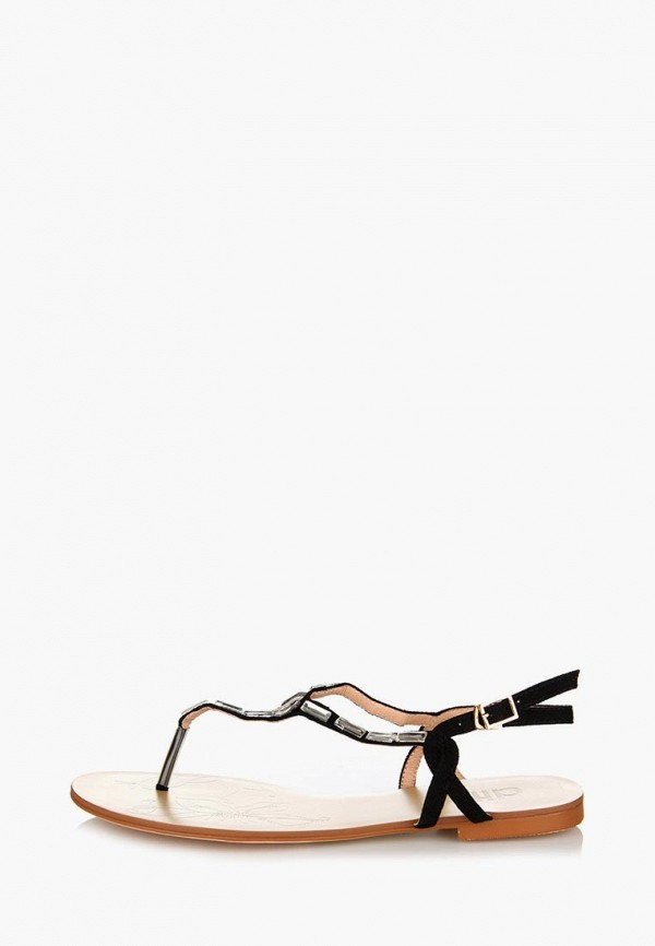 Фото 12 - женские сандали ditto черного цвета