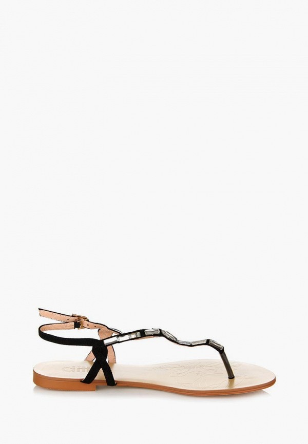 Фото 18 - женские сандали ditto черного цвета