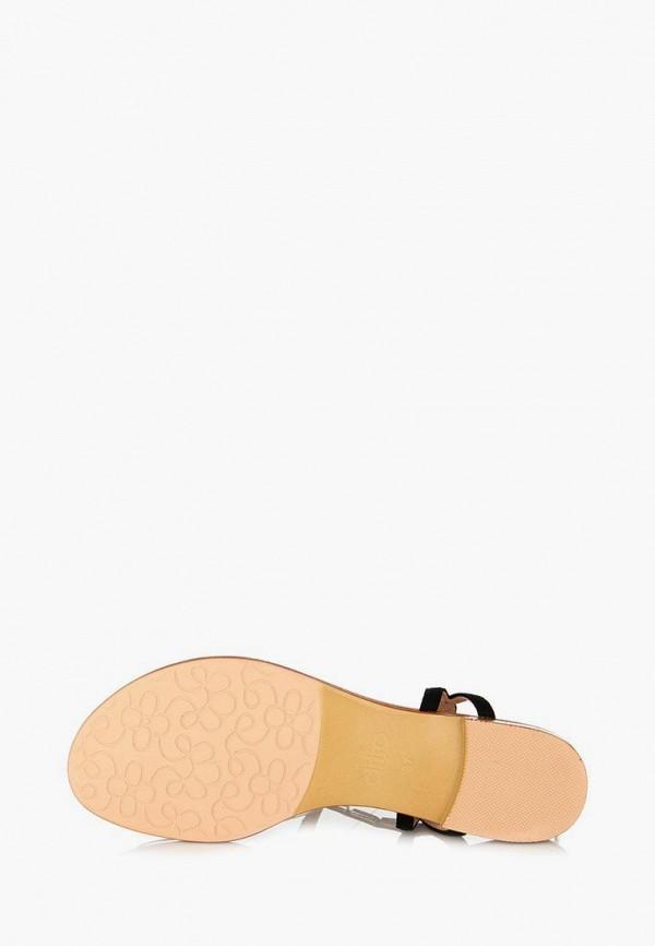 Фото 19 - женские сандали ditto черного цвета
