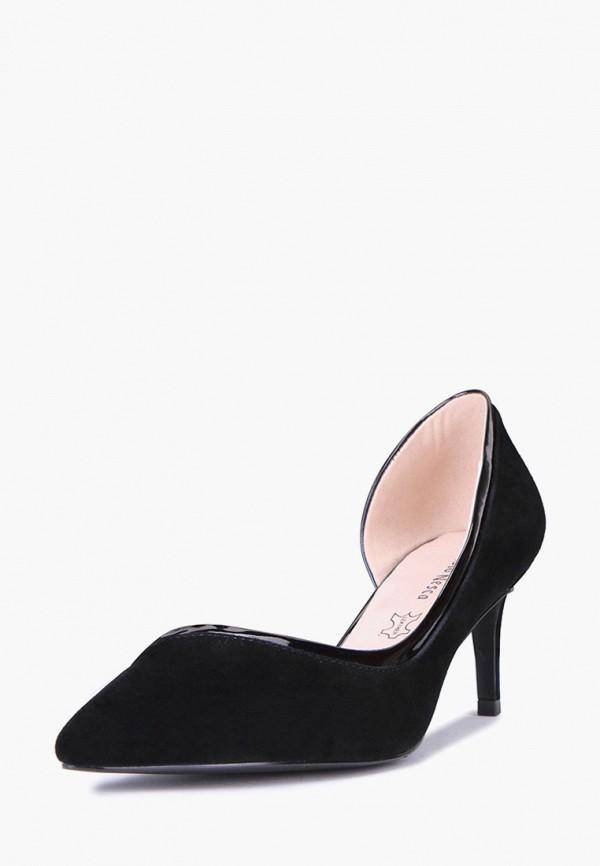 Купить Туфли Alessio Nesca, MP002XW00MH0, черный, Весна-лето 2018